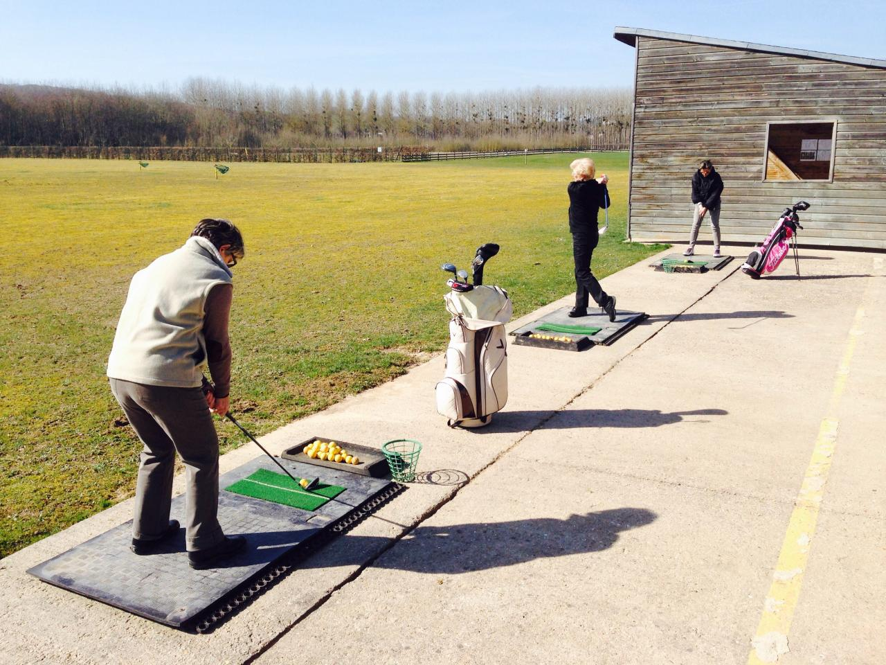 cours de golf dans l'Yonne