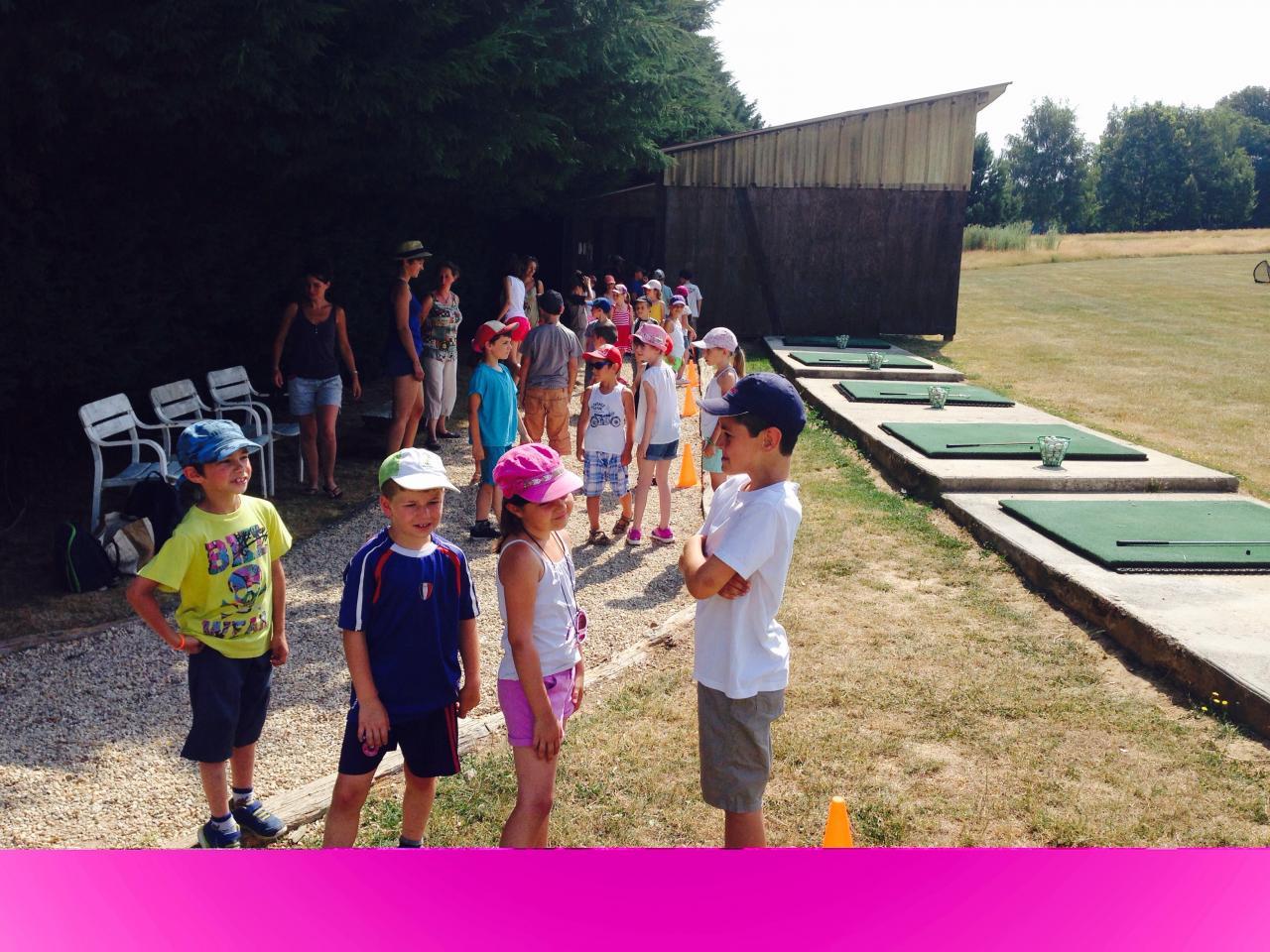Essai golf dans l'Yonne