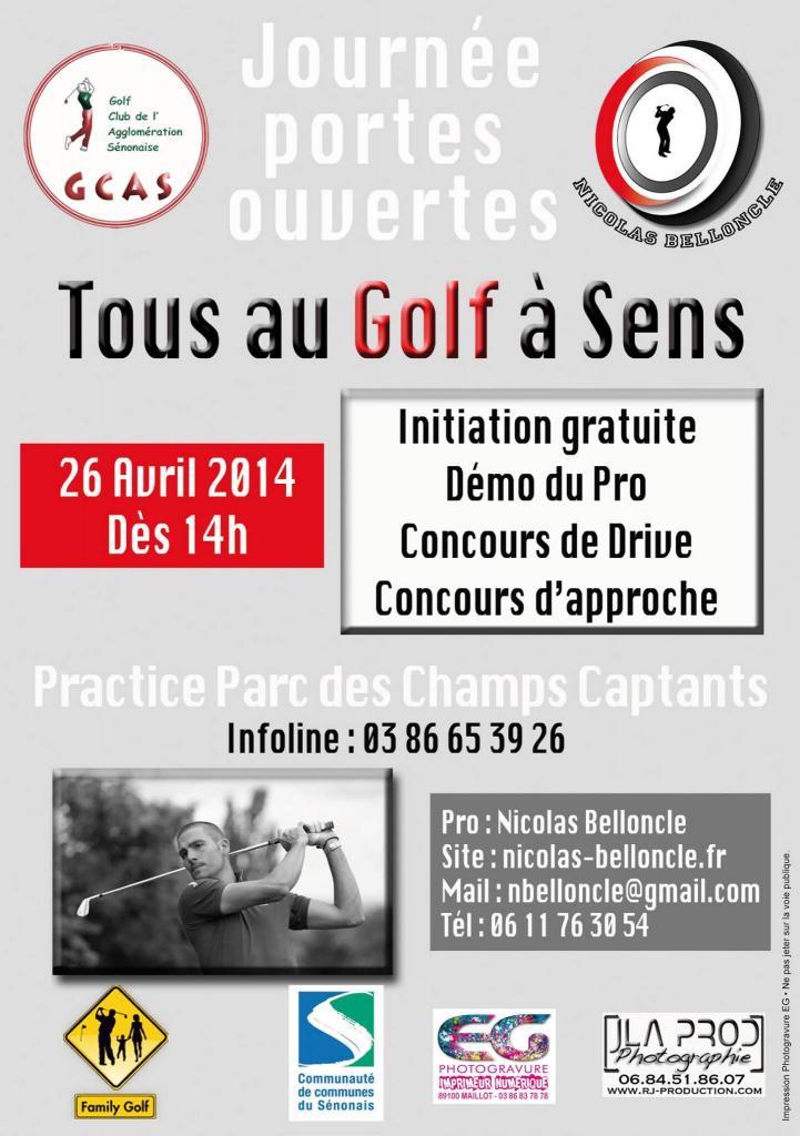 Nicolas Belloncle - Tous au Golf  dans l'Yonne