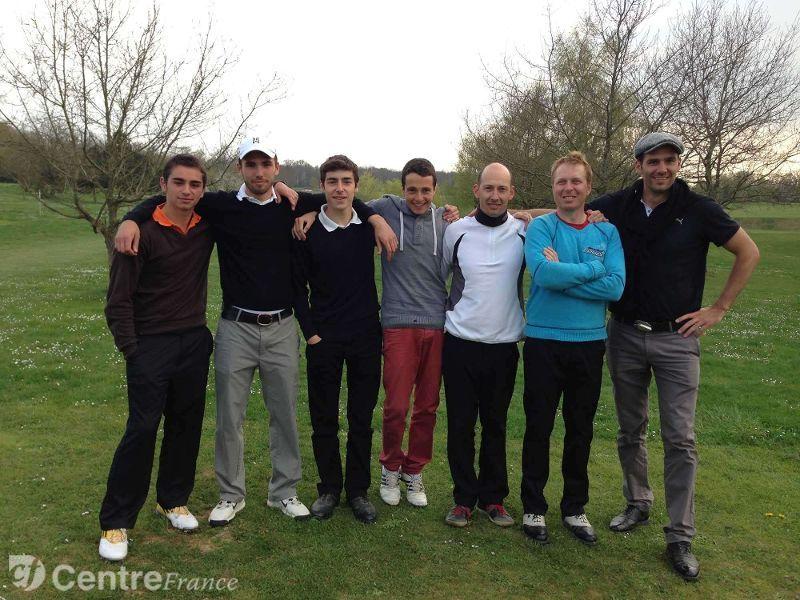 Equipe golf senonais 1